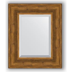 Зеркало с фацетом в багетной раме Evoform Exclusive 49x59 см, травленая бронза 99 мм (BY 3368) цена