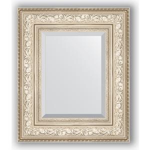 зеркало с фацетом в багетной раме поворотное evoform exclusive 120x180 см виньетка серебро 109 мм by 3634 Зеркало с фацетом в багетной раме Evoform Exclusive 50x60 см, виньетка серебро 109 мм (BY 3374)