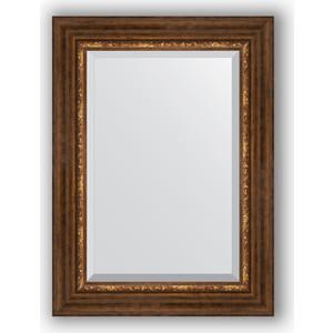 Зеркало с фацетом в багетной раме поворотное Evoform Exclusive 56x76 см, римская бронза 88 мм (BY 3387) римская штора quelle quelle 541783 6 в ш ок 150 90 см