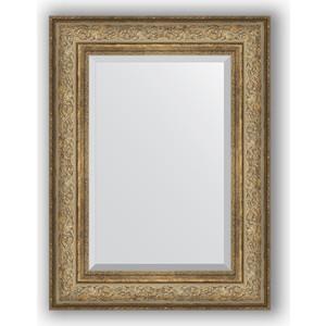 цена на Зеркало с фацетом в багетной раме Evoform Exclusive 60x80 см, виньетка античная бронза 109 мм (BY 3399)
