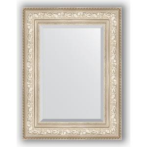 зеркало с фацетом в багетной раме поворотное evoform exclusive 120x180 см виньетка серебро 109 мм by 3634 Зеркало с фацетом в багетной раме поворотное Evoform Exclusive 60x80 см, виньетка серебро 109 мм (BY 3400)