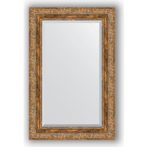 Зеркало с фацетом в багетной раме поворотное Evoform Exclusive 55x85 см, виньетка античная бронза 85 мм (BY 3410) зеркало с фацетом в багетной раме поворотное evoform exclusive 115x175 см виньетка античная бронза 85 мм by 3618