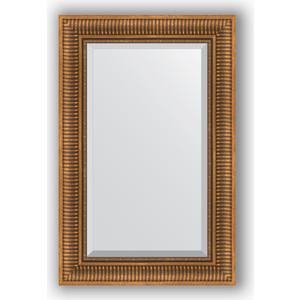 Зеркало с фацетом в багетной раме поворотное Evoform Exclusive 57x87 см, бронзовый акведук 93 мм (BY 3414) зеркало с фацетом в багетной раме поворотное evoform exclusive 53x83 см прованс с плетением 70 мм by 3407