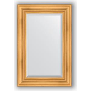 Зеркало с фацетом в багетной раме поворотное Evoform Exclusive 59x89 см, травленое золото 99 мм (BY 3418) evoform exclusive by 1161