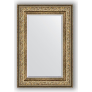 Зеркало с фацетом в багетной раме поворотное Evoform Exclusive 60x90 см, виньетка античная бронза 109 мм (BY 3425) evoform exclusive by 1161