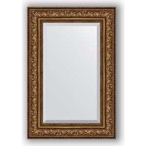 Зеркало с фацетом в багетной раме поворотное Evoform Exclusive 60x90 см, виньетка состаренная бронза 109 мм (BY 3427) evoform exclusive by 1161