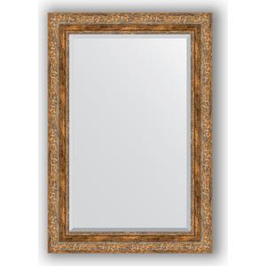 Зеркало с фацетом в багетной раме поворотное Evoform Exclusive 65x95 см, виньетка античная бронза 85 мм (BY 3436) зеркало с фацетом в багетной раме поворотное evoform exclusive 115x175 см виньетка античная бронза 85 мм by 3618