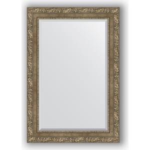 Зеркало с фацетом в багетной раме поворотное Evoform Exclusive 65x95 см, виньетка античная латунь 85 мм (BY 3437) зеркало с фацетом в багетной раме evoform exclusive 75x165 см виньетка античная латунь 85 мм by 3593