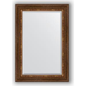 Зеркало с фацетом в багетной раме поворотное Evoform Exclusive 66x96 см, римская бронза 88 мм (BY 3439) римская штора quelle quelle 541783 6 в ш ок 150 90 см