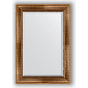 Зеркало с фацетом в багетной раме поворотное Evoform Exclusive 67x97 см, бронзовый акведук 93 мм (BY 3440) evoform exclusive by 1161