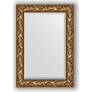 Зеркало с фацетом в багетной раме поворотное Evoform Exclusive 69x99 см, византия золото 99 мм (BY 3441) зеркало с фацетом в багетной раме поворотное evoform exclusive 79x169 см византия золото 99 мм by 3597