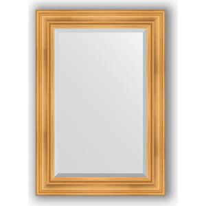 Зеркало с фацетом в багетной раме поворотное Evoform Exclusive 69x99 см, травленое золото 99 мм (BY 3444) evoform exclusive by 1161