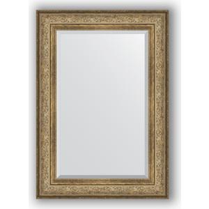 Зеркало с фацетом в багетной раме поворотное Evoform Exclusive 70x100 см, виньетка античная бронза 109 мм (BY 3451) evoform exclusive by 1161