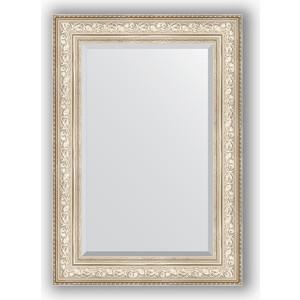 зеркало с фацетом в багетной раме поворотное evoform exclusive 120x180 см виньетка серебро 109 мм by 3634 Зеркало с фацетом в багетной раме поворотное Evoform Exclusive 70x100 см, виньетка серебро 109 мм (BY 3452)