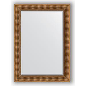 Зеркало с фацетом в багетной раме поворотное Evoform Exclusive 77x107 см, бронзовый акведук 93 мм (BY 3466) зеркало с фацетом в багетной раме evoform exclusive 47x57 см бронзовый акведук 93 мм by 3362