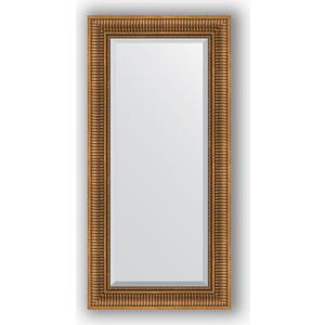 Зеркало с фацетом в багетной раме поворотное Evoform Exclusive 57x117 см, бронзовый акведук 93 мм (BY 3492) зеркало с фацетом в багетной раме поворотное evoform exclusive 111x171 см палисандр 62 мм by 1214