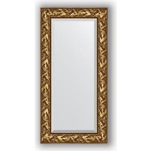 Зеркало с фацетом в багетной раме поворотное Evoform Exclusive 59x119 см, византия золото 99 мм (BY 3493) полочная акустика canton gle 426 2 white