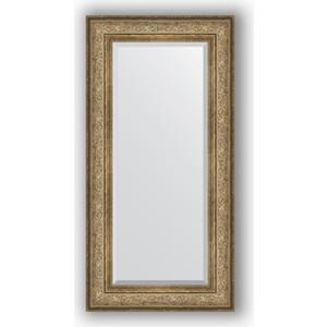 Зеркало с фацетом в багетной раме поворотное Evoform Exclusive 60x120 см, виньетка античная бронза 109 мм (BY 3503) evoform exclusive by 1239