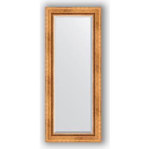 Зеркало с фацетом в багетной раме поворотное Evoform Exclusive 56x136 см, римское золото 88 мм (BY 3516) evoform exclusive by 1161