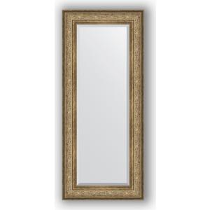 Зеркало с фацетом в багетной раме поворотное Evoform Exclusive 60x140 см, виньетка античная бронза 109 мм (BY 3529) цена