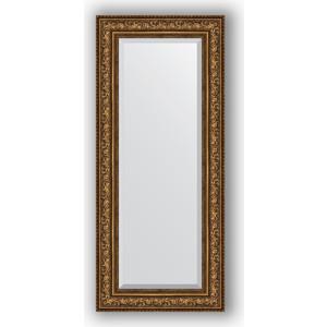 Зеркало с фацетом в багетной раме поворотное Evoform Exclusive 60x140 см, виньетка состаренная бронза 109 мм (BY 3531) цена