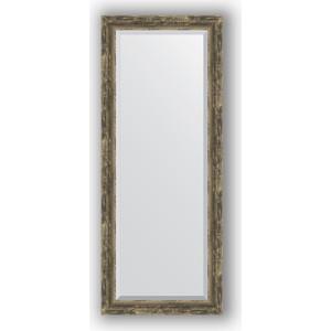 Зеркало с фацетом в багетной раме Evoform Exclusive 58x143 см, старое дерево с плетением 70 мм (BY 3538) itap 143 2 редуктор давления