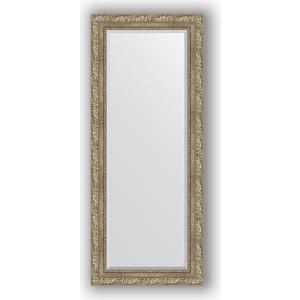 Зеркало с фацетом в багетной раме поворотное Evoform Exclusive 60x145 см, виньетка античное серебро 85 мм (BY 3539) зеркало с фацетом в багетной раме поворотное evoform exclusive 60x145 см виньетка античное серебро 85 мм by 3539