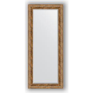 Зеркало с фацетом в багетной раме поворотное Evoform Exclusive 60x145 см, виньетка античная бронза 85 мм (BY 3540) зеркало с фацетом в багетной раме поворотное evoform exclusive 115x175 см виньетка античная бронза 85 мм by 3618
