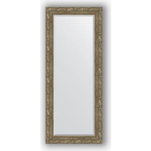Зеркало с фацетом в багетной раме поворотное Evoform Exclusive 60x145 см, виньетка античная латунь 85 мм (BY 3541) зеркало с фацетом в багетной раме поворотное evoform exclusive 60x145 см виньетка античное серебро 85 мм by 3539