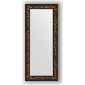 Зеркало с фацетом в багетной раме поворотное Evoform Exclusive 64x149 см, византия бронза 99 мм (BY 3547) зеркало напольное с фацетом поворотное evoform exclusive floor 114x203 см в багетной раме византия бронза 99 мм by 6166