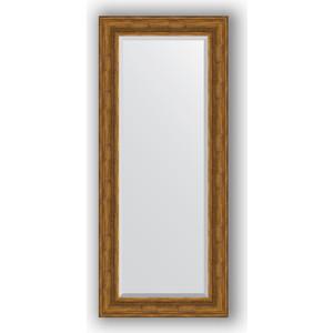 Зеркало с фацетом в багетной раме поворотное Evoform Exclusive 64x149 см, травленая бронза 99 мм (BY 3550) цена