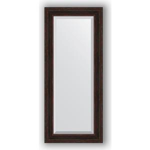 Зеркало с фацетом в багетной раме поворотное Evoform Exclusive 64x149 см, темный прованс 99 мм (BY 3551) зеркало с фацетом в багетной раме поворотное evoform exclusive 71x161 см палисандр 62 мм by 1204