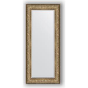 Зеркало с фацетом в багетной раме Evoform Exclusive 65x150 см, виньетка античная бронза 109 мм (BY 3555) evoform exclusive by 1239