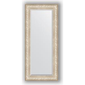 зеркало с фацетом в багетной раме поворотное evoform exclusive 120x180 см виньетка серебро 109 мм by 3634 Зеркало с фацетом в багетной раме поворотное Evoform Exclusive 65x150 см, виньетка серебро 109 мм (BY 3556)