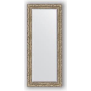 Зеркало с фацетом в багетной раме поворотное Evoform Exclusive 65x155 см, виньетка античное серебро 85 мм (BY 3565) зеркало с фацетом в багетной раме поворотное evoform exclusive 60x145 см виньетка античное серебро 85 мм by 3539