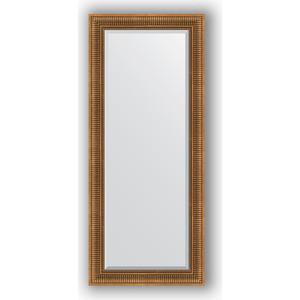 Зеркало с фацетом в багетной раме поворотное Evoform Exclusive 67x157 см, бронзовый акведук 93 мм (BY 3570) зеркало с фацетом в багетной раме evoform exclusive 47x57 см бронзовый акведук 93 мм by 3362