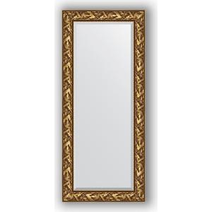 Зеркало с фацетом в багетной раме поворотное Evoform Exclusive 69x159 см, византия золото 99 мм (BY 3571) зеркало с фацетом в багетной раме поворотное evoform exclusive 79x169 см византия золото 99 мм by 3597