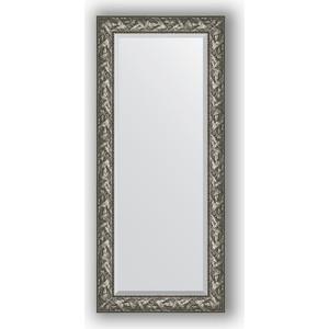 Зеркало с фацетом в багетной раме поворотное Evoform Exclusive 69x159 см, византия серебро 99 мм (BY 3572) mantra 3572