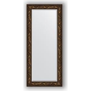 Зеркало с фацетом в багетной раме Evoform Exclusive 69x159 см, византия бронза 99 мм (BY 3573) зеркало с гравировкой evoform exclusive g 99x124 см в багетной раме византия серебро 99 мм by 4372