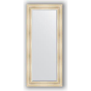 Зеркало с фацетом в багетной раме поворотное Evoform Exclusive 69x159 см, травленое серебро 99 мм (BY 3575) con 3575 600k con 3575 001a комплект одинарный