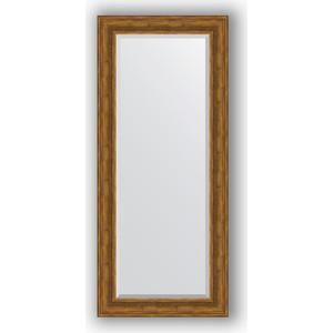 Зеркало с фацетом в багетной раме поворотное Evoform Exclusive 69x159 см, травленая бронза 99 мм (BY 3576) цена