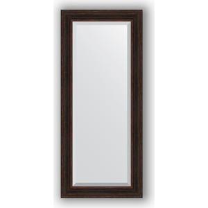 Зеркало с фацетом в багетной раме поворотное Evoform Exclusive 69x159 см, темный прованс 99 мм (BY 3577) зеркало с фацетом в багетной раме поворотное evoform exclusive 53x83 см прованс с плетением 70 мм by 3407