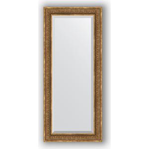 Зеркало с фацетом в багетной раме поворотное Evoform Exclusive 69x159 см, вензель бронзовый 101 мм (BY 3578) зеркало с фацетом в багетной раме поворотное evoform exclusive 71x161 см палисандр 62 мм by 1204