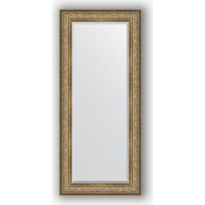 Зеркало с фацетом в багетной раме поворотное Evoform Exclusive 70x160 см, виньетка античная бронза 109 мм (BY 3581) зеркало с фацетом в багетной раме поворотное evoform exclusive 120x180 см виньетка античная бронза 109 мм by 3633