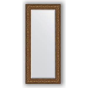 Зеркало с фацетом в багетной раме поворотное Evoform Exclusive 70x160 см, виньетка состаренная бронза 109 мм (BY 3583) risunmotor exclusive customized black