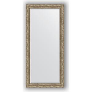 Зеркало с фацетом в багетной раме поворотное Evoform Exclusive 75x165 см, виньетка античное серебро 85 мм (BY 3591) зеркало с фацетом в багетной раме поворотное evoform exclusive 60x145 см виньетка античное серебро 85 мм by 3539