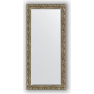 Зеркало с фацетом в багетной раме поворотное Evoform Exclusive 75x165 см, виньетка античная латунь 85 мм (BY 3593) зеркало с фацетом в багетной раме evoform exclusive 75x165 см виньетка античная латунь 85 мм by 3593