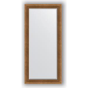 Зеркало с фацетом в багетной раме поворотное Evoform Exclusive 77x167 см, бронзовый акведук 93 мм (BY 3596) зеркало с фацетом в багетной раме evoform exclusive 47x57 см бронзовый акведук 93 мм by 3362