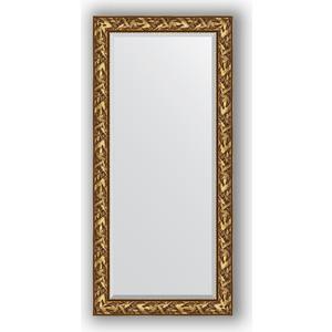 Зеркало с фацетом в багетной раме поворотное Evoform Exclusive 79x169 см, византия золото 99 мм (BY 3597) зеркало с фацетом в багетной раме поворотное evoform exclusive 79x169 см византия золото 99 мм by 3597