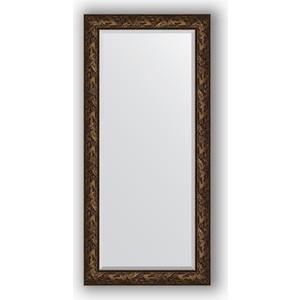 Зеркало с фацетом в багетной раме поворотное Evoform Exclusive 79x169 см, византия бронза 99 мм (BY 3599)